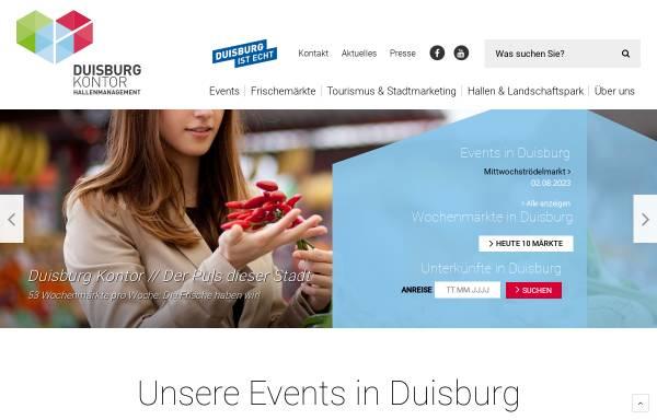 Vorschau von www.frischekontor.de, FrischeKontor Duisburg GmbH