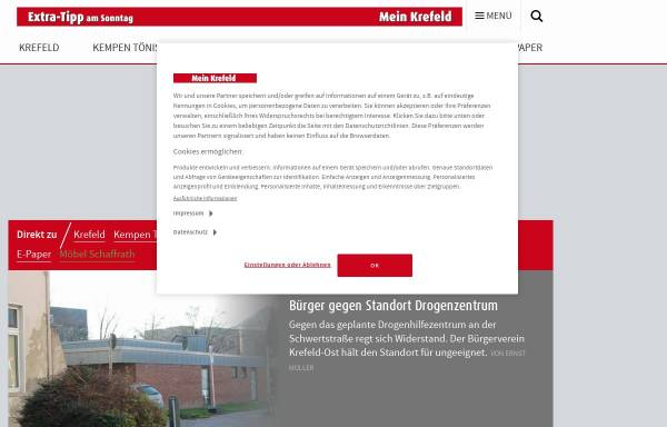 Vorschau von www.stadt-spiegel-krefeld.de, Stadt-Spiegel Krefeld