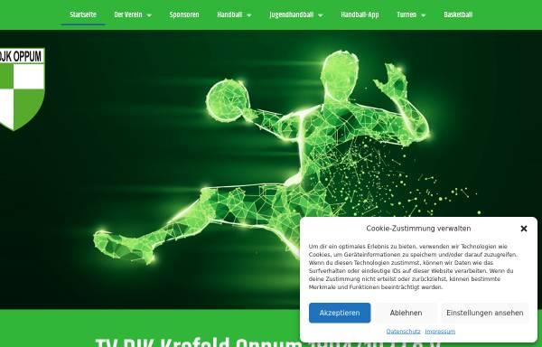 Vorschau von www.tvoppum.net, TV Krefeld Oppum 1894 e.V.