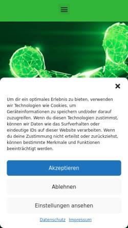 Vorschau der mobilen Webseite www.tvoppum.net, TV Krefeld Oppum 1894 e.V.