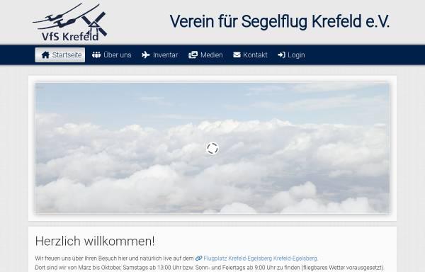 Vorschau von www.vfs-krefeld.de, Verein für Segelflug Krefeld e.V.