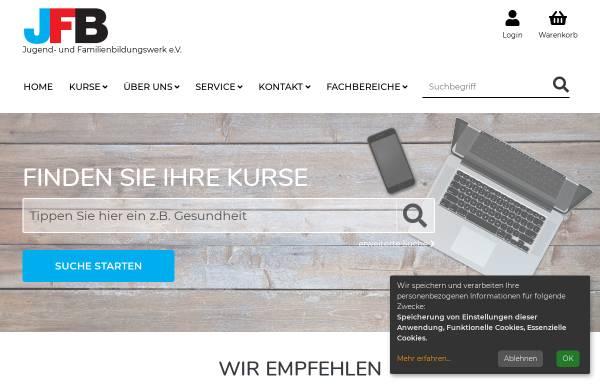 Vorschau von www.jfb-stadtlohn.de, JFB Jugend- und Familienbildungswerk e.V.