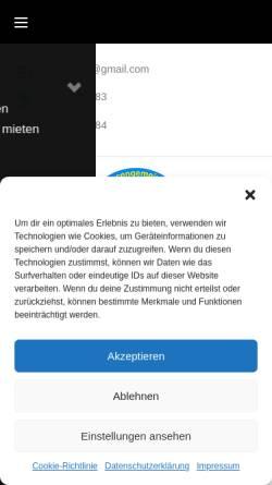 Vorschau der mobilen Webseite www.ihv2000.de, Interessengemeinschaft Huckarder Vereine