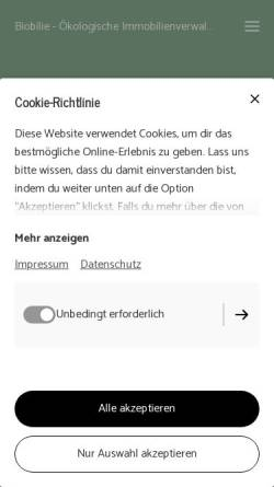 Vorschau der mobilen Webseite www.hombruch.de, Stadtbezirk Hombruch