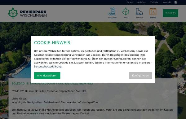 Vorschau von www.wischlingen.de, Revierpark Wischlingen