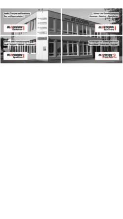 Vorschau der mobilen Webseite www.bloedorn.com, Bloedorn Spedition GmbH