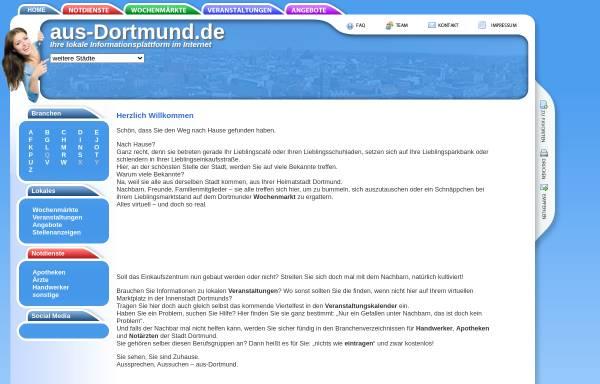 Vorschau von www.aus-dortmund.de, aus-dortmund.de