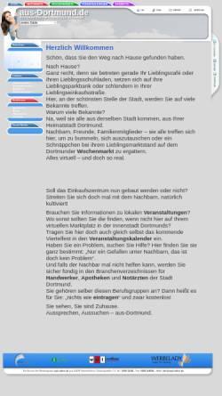 Vorschau der mobilen Webseite www.aus-dortmund.de, aus-dortmund.de