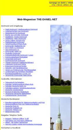 Vorschau der mobilen Webseite www.the-daniel-net.de, The Daniel Net
