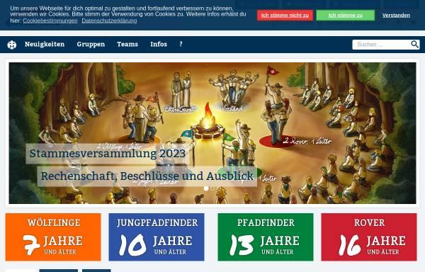 Vorschau von www.stamm-boele.de, Deutsche Pfadfinderschaft Sankt Georg (DPSG) - Stamm Hagen Boele-Helfe