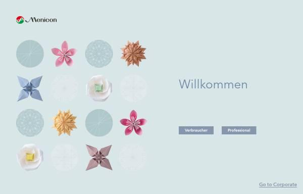 Vorschau von www.menicon.de, Menicon GmbH