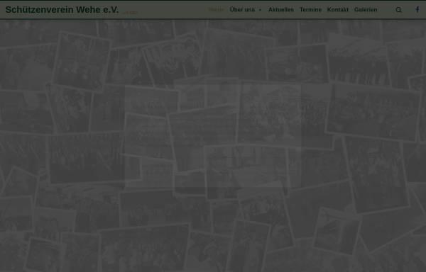Vorschau von www.schuetzenverein-wehe.de, Schützenverein Wehe von 1922 e.V.