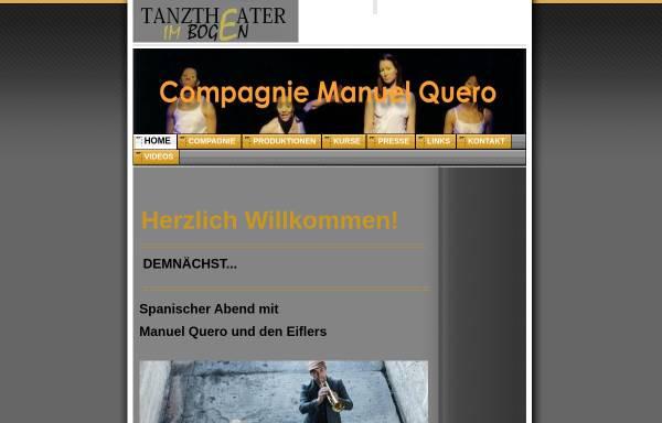 Vorschau von compagnie-manuel-quero.de, Compagnie Manuel Quero