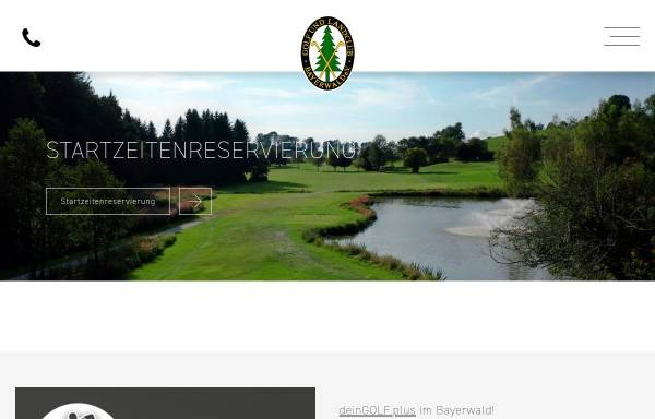 Vorschau von www.gc-bayerwald.de, Golfclub Bayerwald