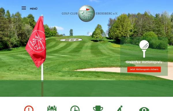 Vorschau von www.gc-ebersberg.de, Golfclub Ebersberg