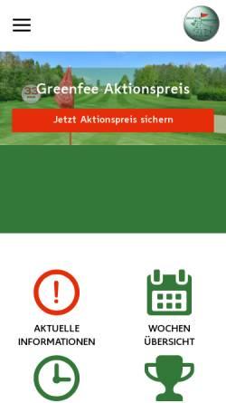 Vorschau der mobilen Webseite www.gc-ebersberg.de, Golfclub Ebersberg