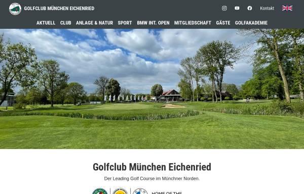 Vorschau von www.gc-eichenried.de, Golfclub Eichenried