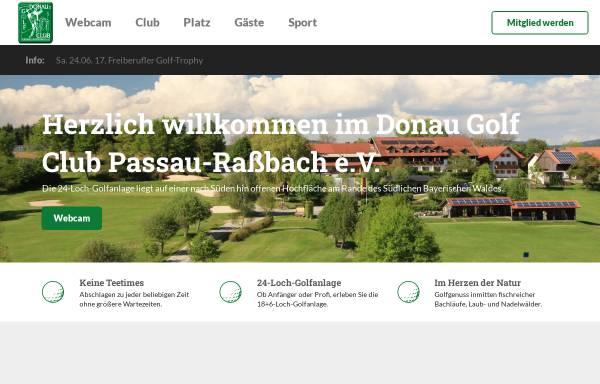 Vorschau von www.golf-passau.de, Donau Golf Club Passau-Raßach e.V.