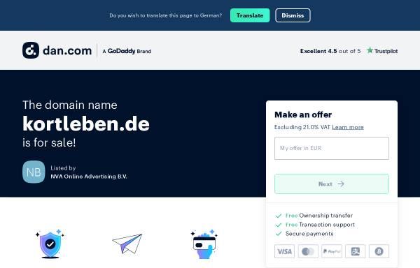 Vorschau von www.kortleben.de, Dr. Kortleben
