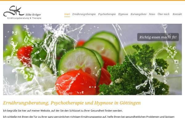 Vorschau von www.richtig-essen-macht-fit.de, Silke Kröger