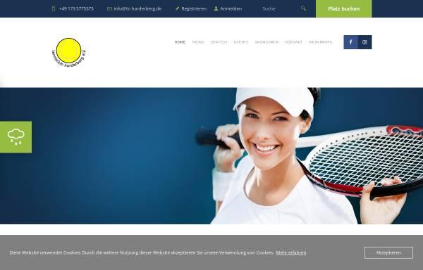 Vorschau von www.tc-harderberg.de, TC Harderberg