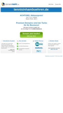 Vorschau der mobilen Webseite www.tennisinhambuehren.de, TuS Oldau / Ovelgönne e.V.
