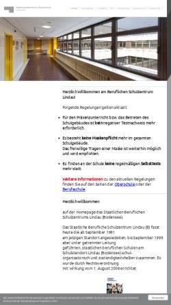 Vorschau der mobilen Webseite www.bsz-lindau.de, Staatliche Berufsschule und Berufsfachschule für Gastronomie