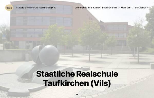 Vorschau von www.rstaufkirchen.de, Staatliche Realschule Taufkirchen/Vils