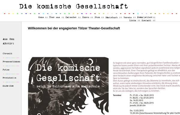 Vorschau von m7s23.vlinux.de, Die Komische Gesellschaft e. V.