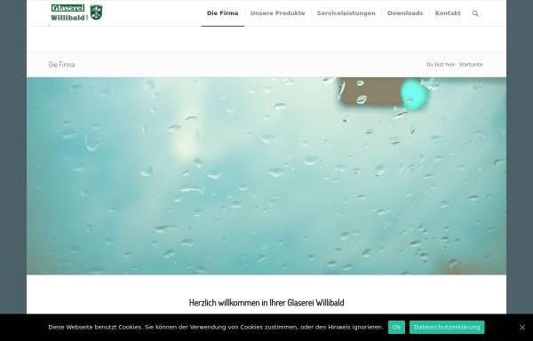 Vorschau von www.glaserei-willibald.de, Glaserei Willibald GmbH