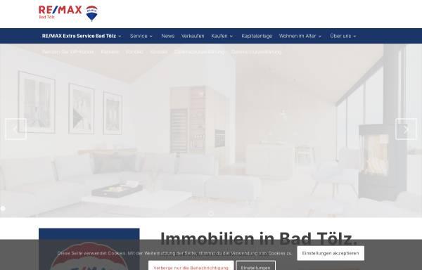 Vorschau von www.remax-bad-toelz.de, Remax Immobilien