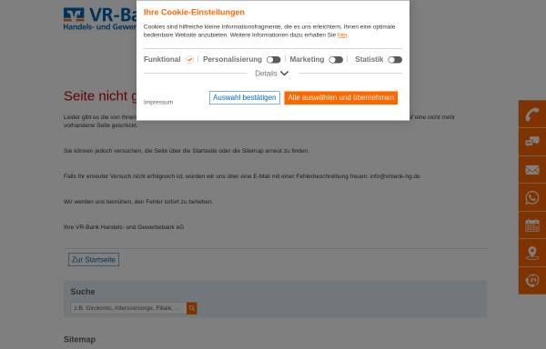 Vorschau von www.vrbank-hg.de, Raiffeisenbank Gersthofen-Meitingen eG
