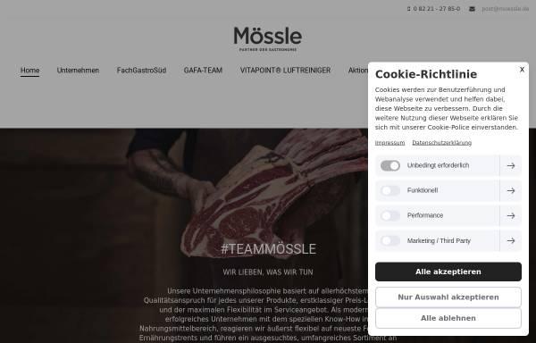 Vorschau von www.moessle.de, Martin Mössle Großhandel