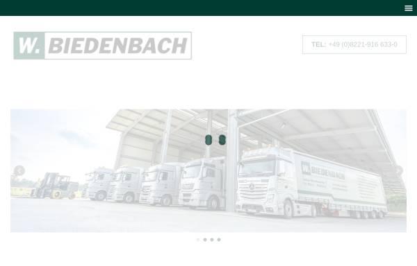 Vorschau von www.biedenbach.de, Walter Biedenbach GmbH