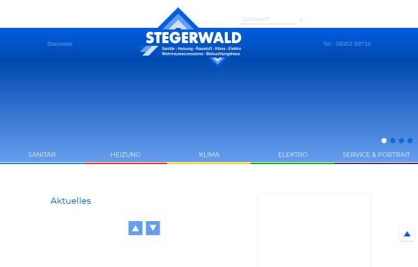 Vorschau von stegerwald.de, Reiner Stegerwald GmbH