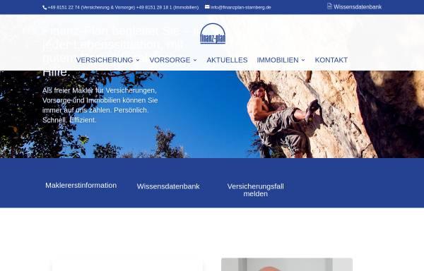 Vorschau von www.finanzplan-starnberg.de, Finanz-Plan