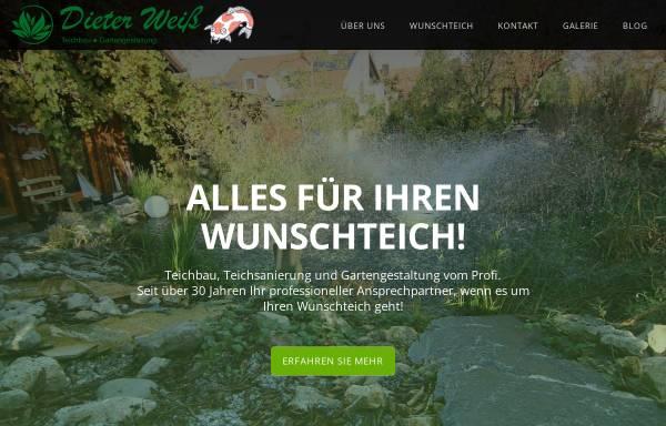 Vorschau von www.ihr-wunschgarten.de, Dieter Weiss, Gartengestaltung & Pflege