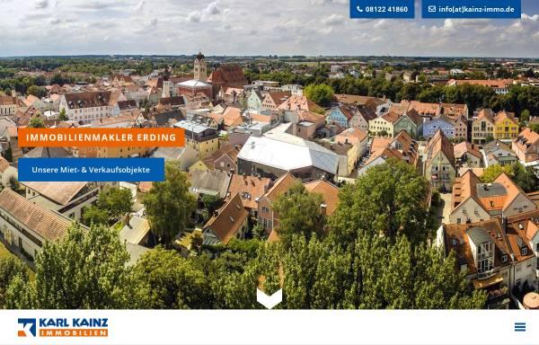 Vorschau von www.kainz-immo.de, Karl Kainz Immobilien