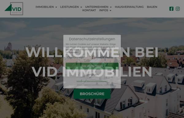 Vorschau von www.vid-immobilien.de, VID Immobilien GmbH