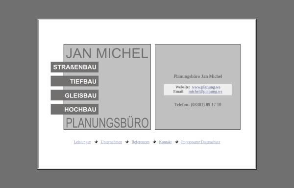 Vorschau von www.planung.ws, Planungsbüro Jan Michel