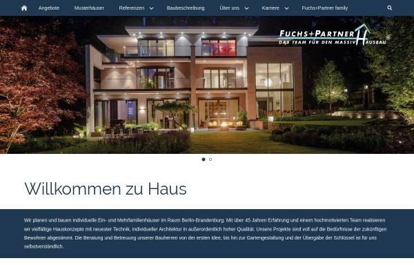 Vorschau von www.fuchs-partner.de, Fuchs und Partner GmbH