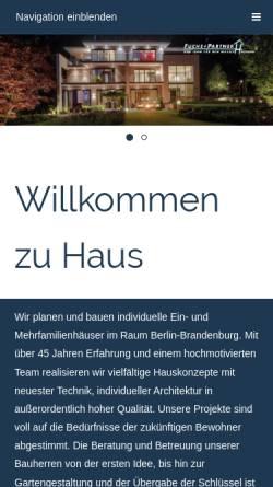 Vorschau der mobilen Webseite www.fuchs-partner.de, Fuchs und Partner GmbH