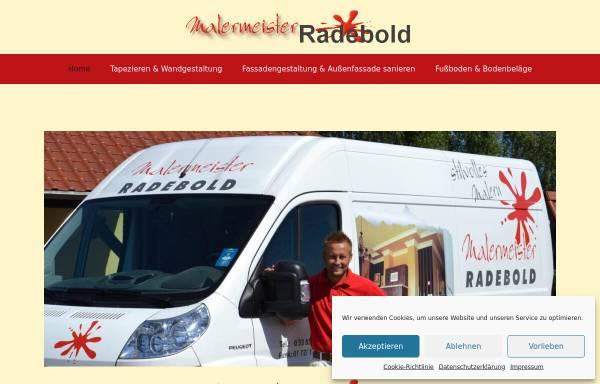 Vorschau von www.malermeister-radebold.de, Malermeister Radebold