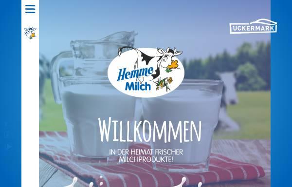 Vorschau von www.um-hemme-milch.de, Hemme Milch GmbH & Co. KG