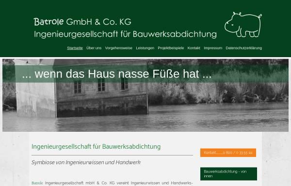 Vorschau von www.batrole.de, Batrole Ing.