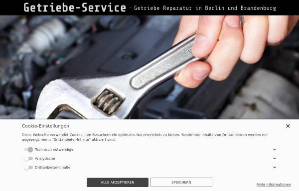 Vorschau von www.getriebe-service.de, Getriebe - Service