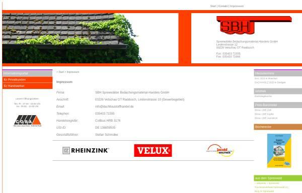 Baumarkt Vetschau sbh spreewälder bedachungsmaterial handels gmbh wirtschaft