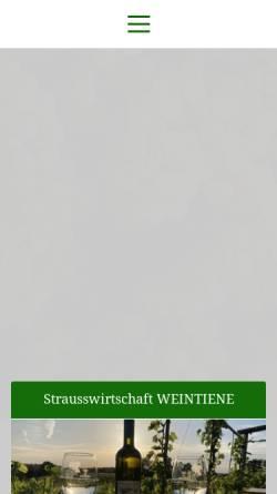 Vorschau der mobilen Webseite www.wachtelberg.de, Weinbau Dr. Manfred Lindicke