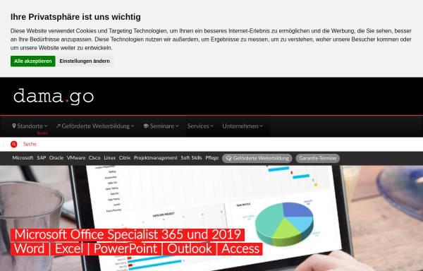 Vorschau von www.damago.de, Damago GmbH