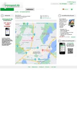 Vorschau der mobilen Webseite www.immopool.de, Hans Grewe Immobilienbetreuung